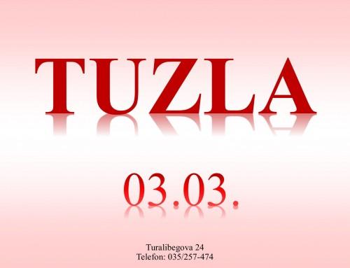 Nalaz u Tuzli od 3.3.3021